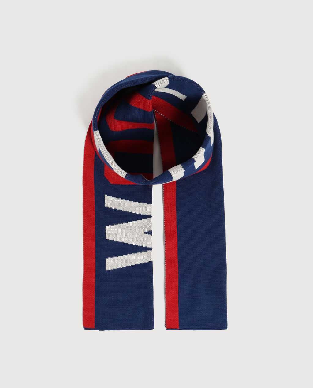 B'S Logo Scarf Active Blue