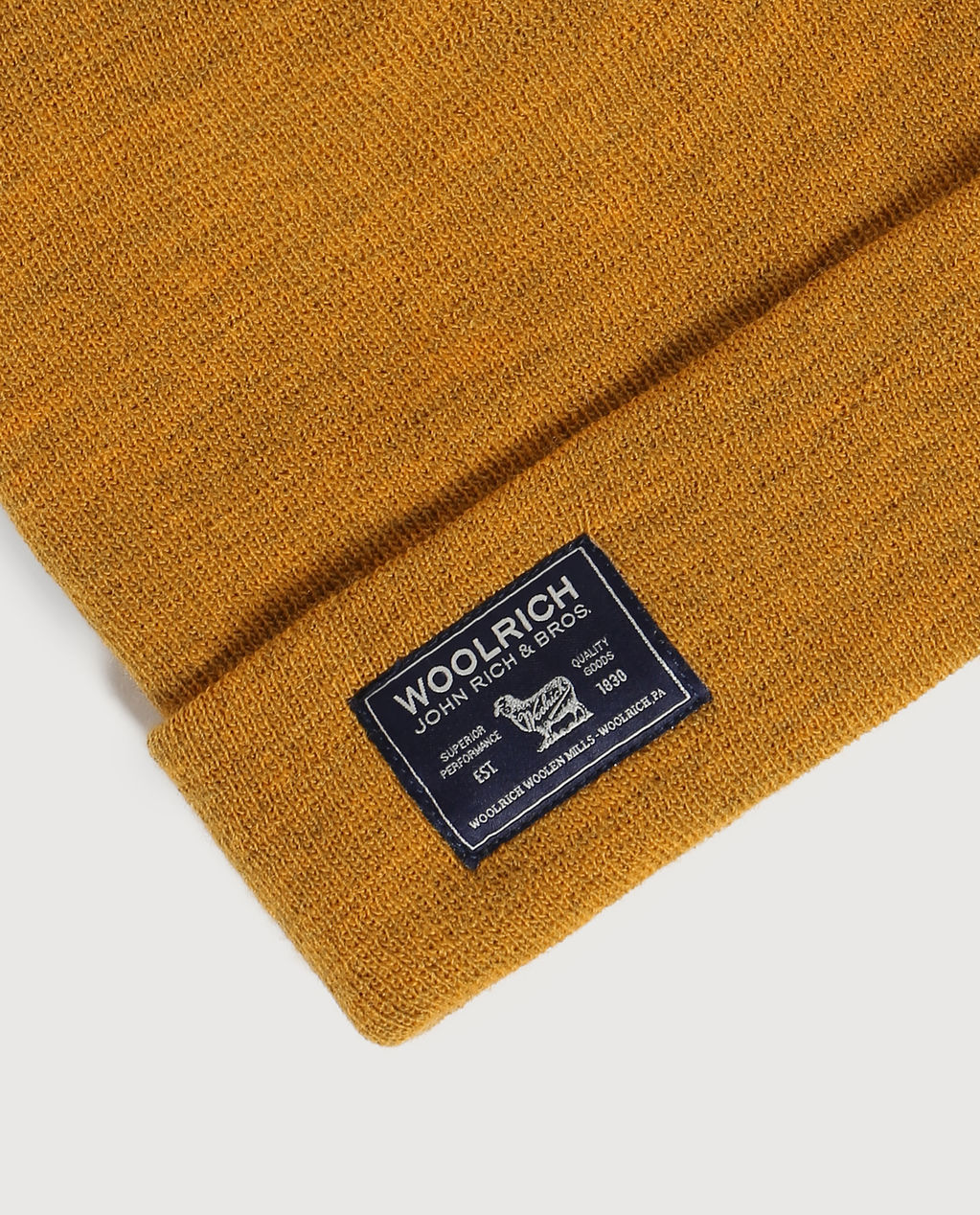 B'S Label Beanie GOLDEN ROD