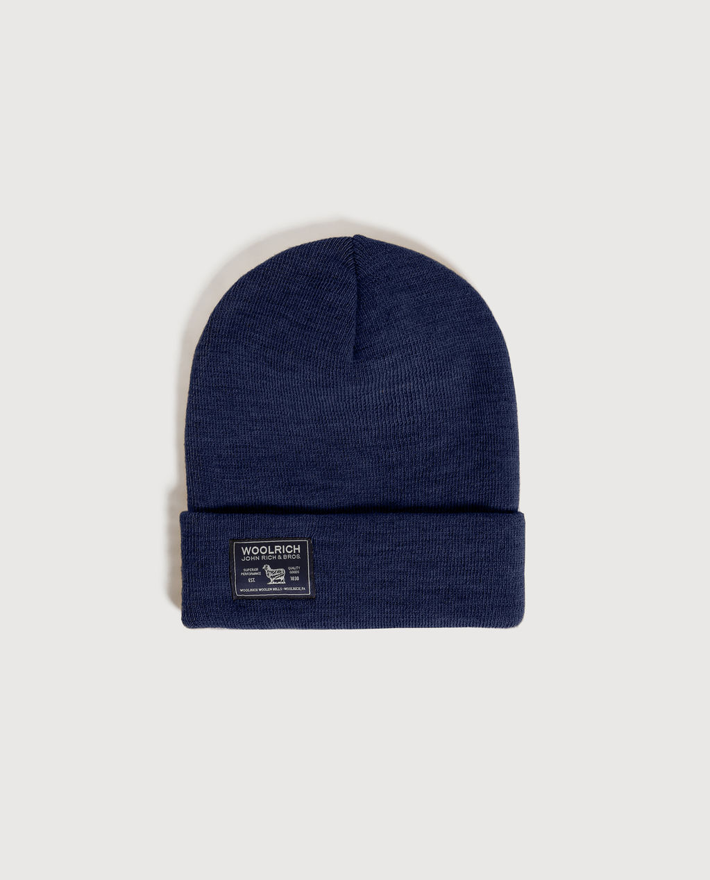 B'S Label Beanie ALASKAN BLUE