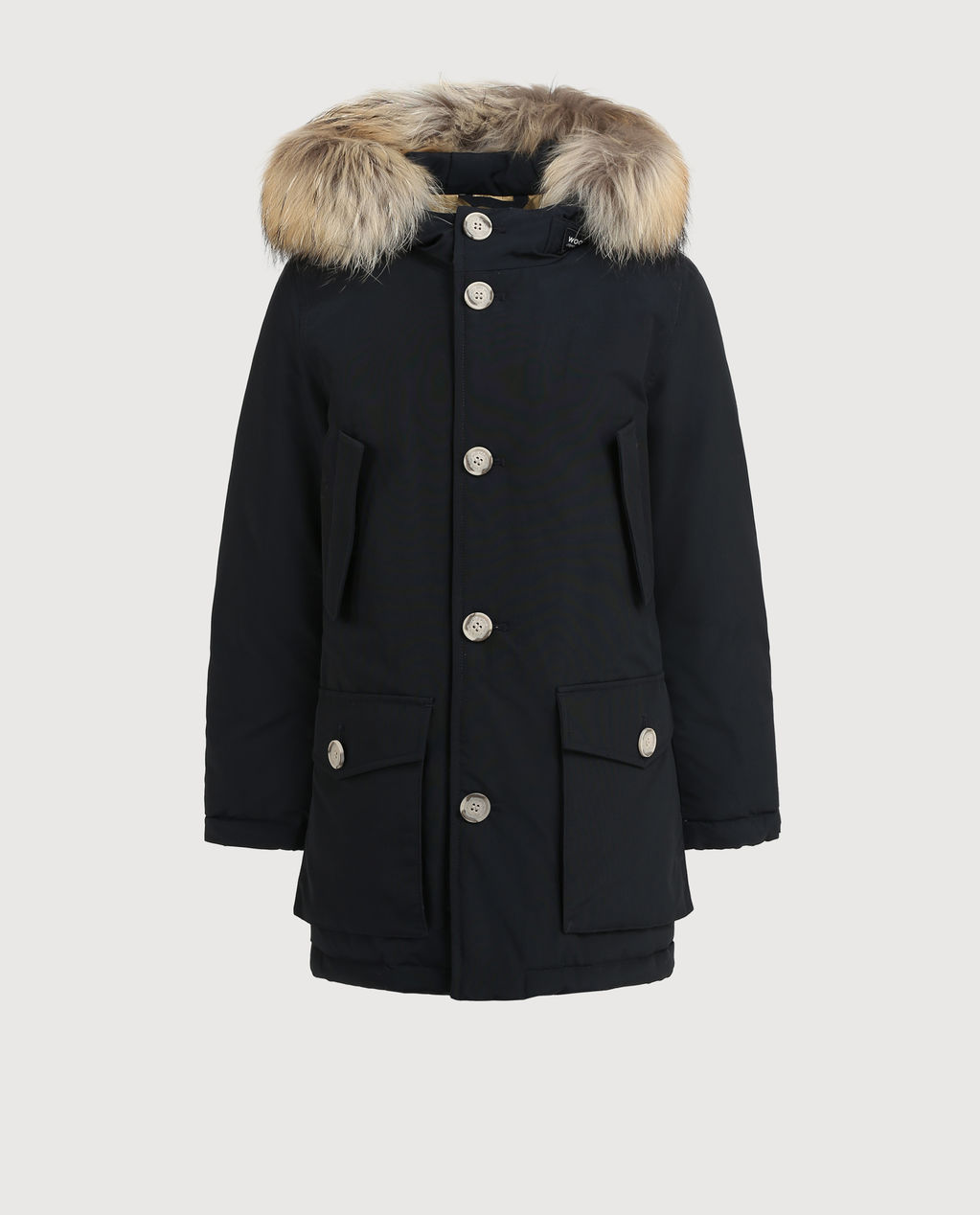 B'S Parka Detachable Fur DARK NAVY
