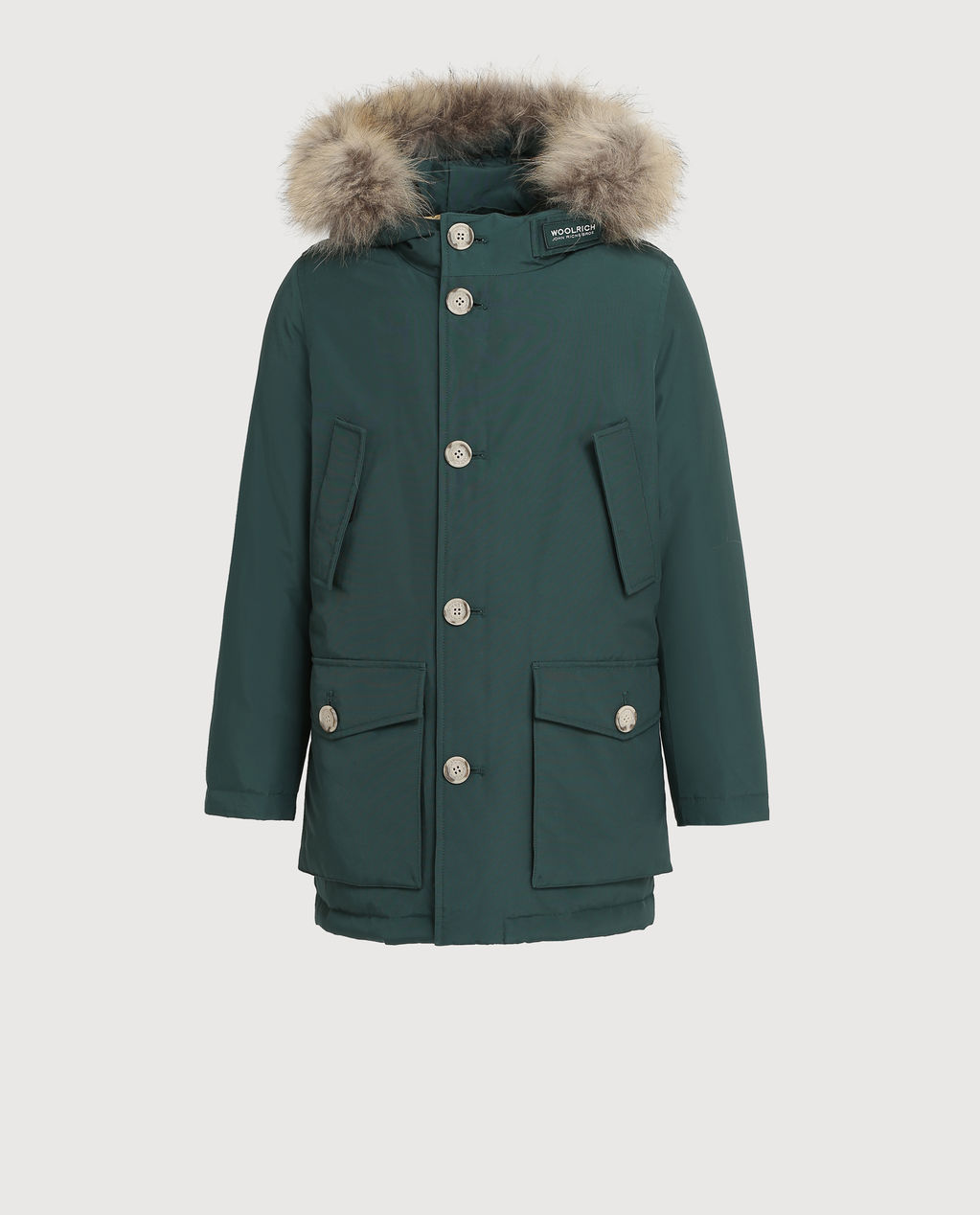 B'S Parka Detachable Fur FOREST