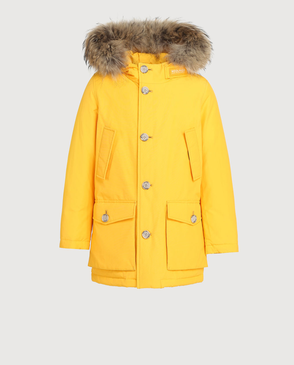 B'S Parka Detachable Fur GOLDEN ROD
