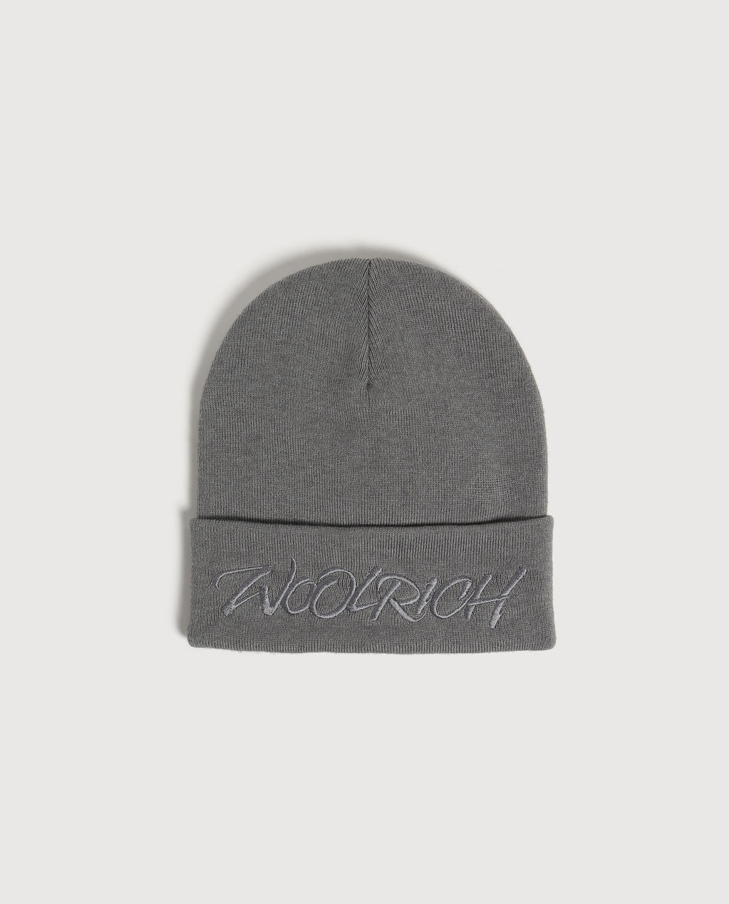 W'S Logo Beanie LIGHT GREY MELA