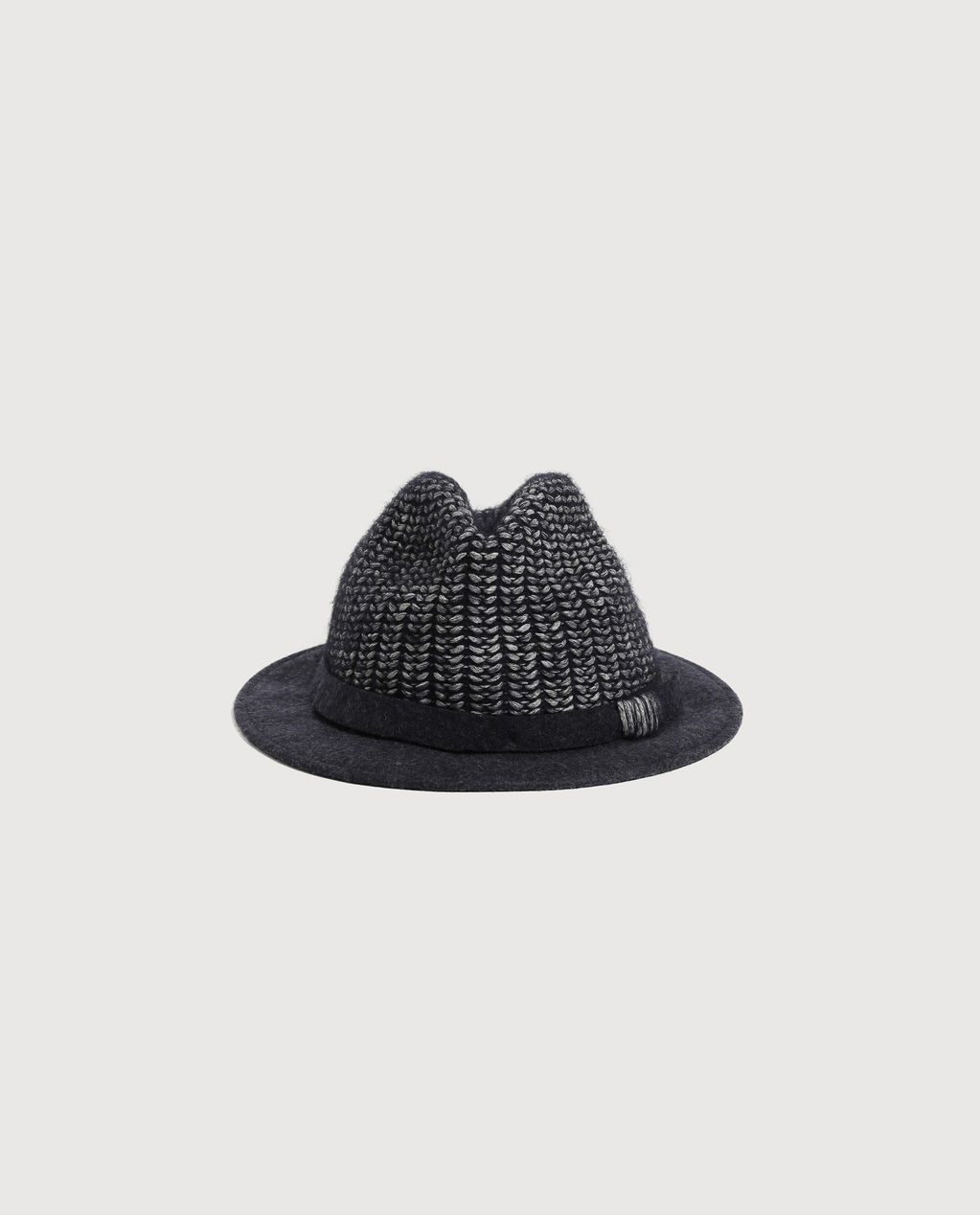 W'S Knitted Hat MELTON BLUE
