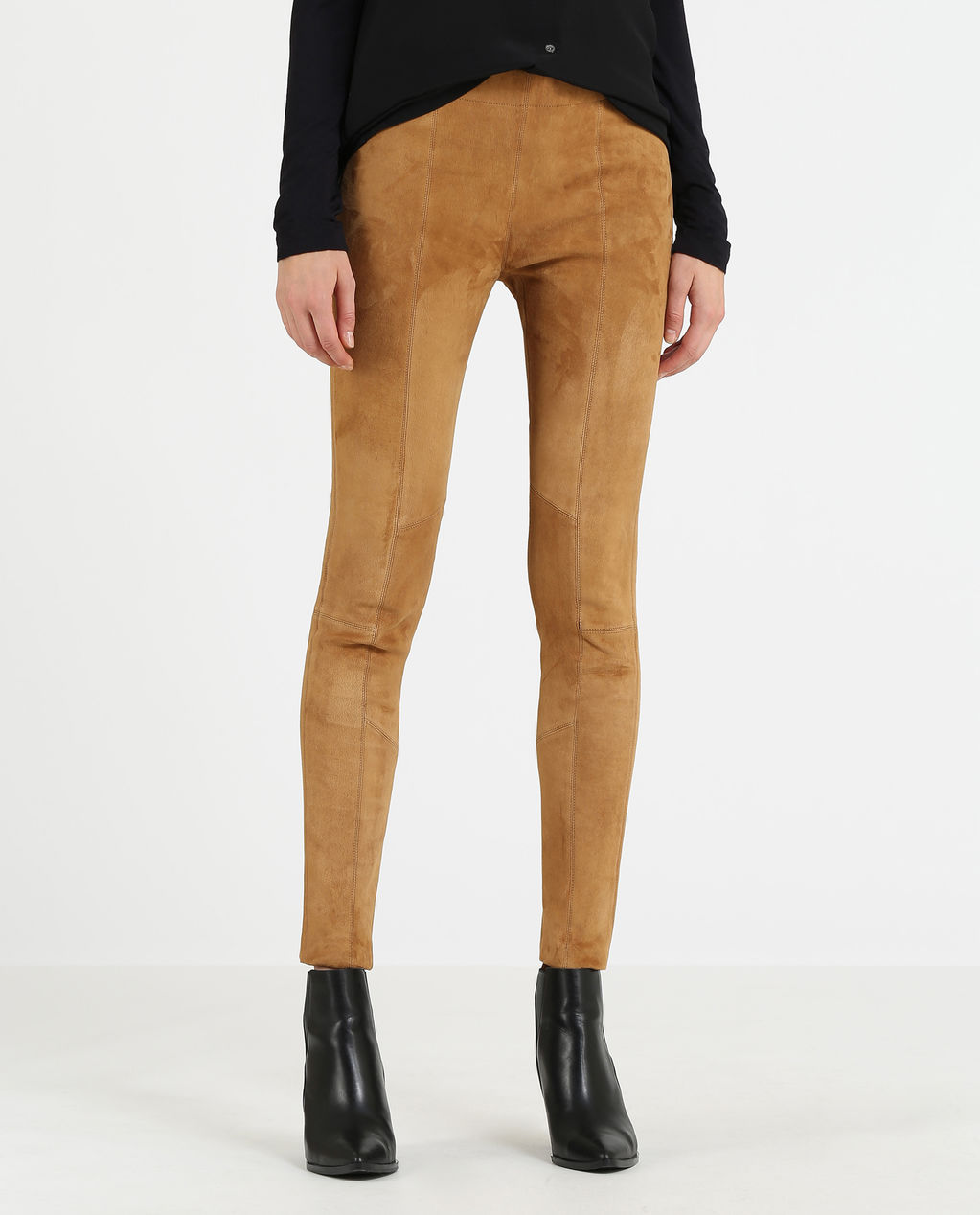 W'S Suede Soft Pant CAMEL