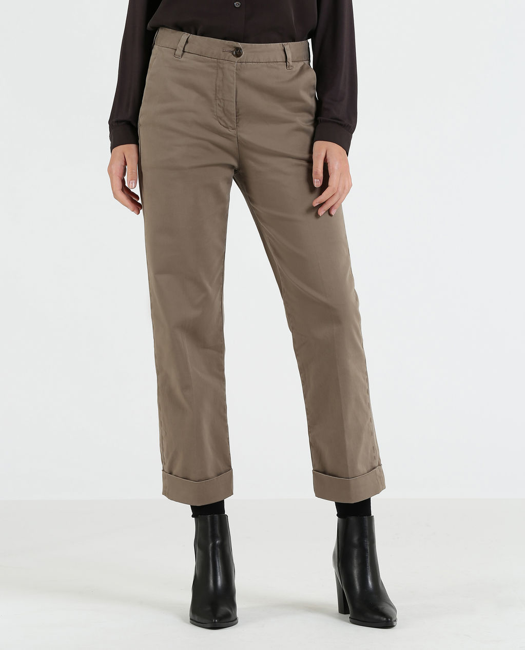 W'S American Chino Alpha Taupe