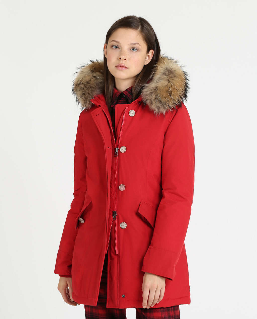 W'S Arctic Parka Fr RED FRENCH KISS