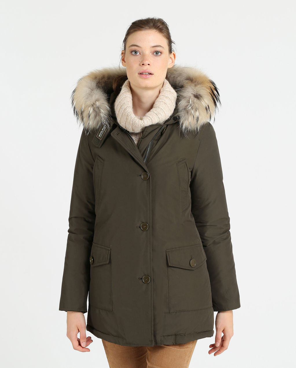 W'S Arctic Parka Df DARK GREEN