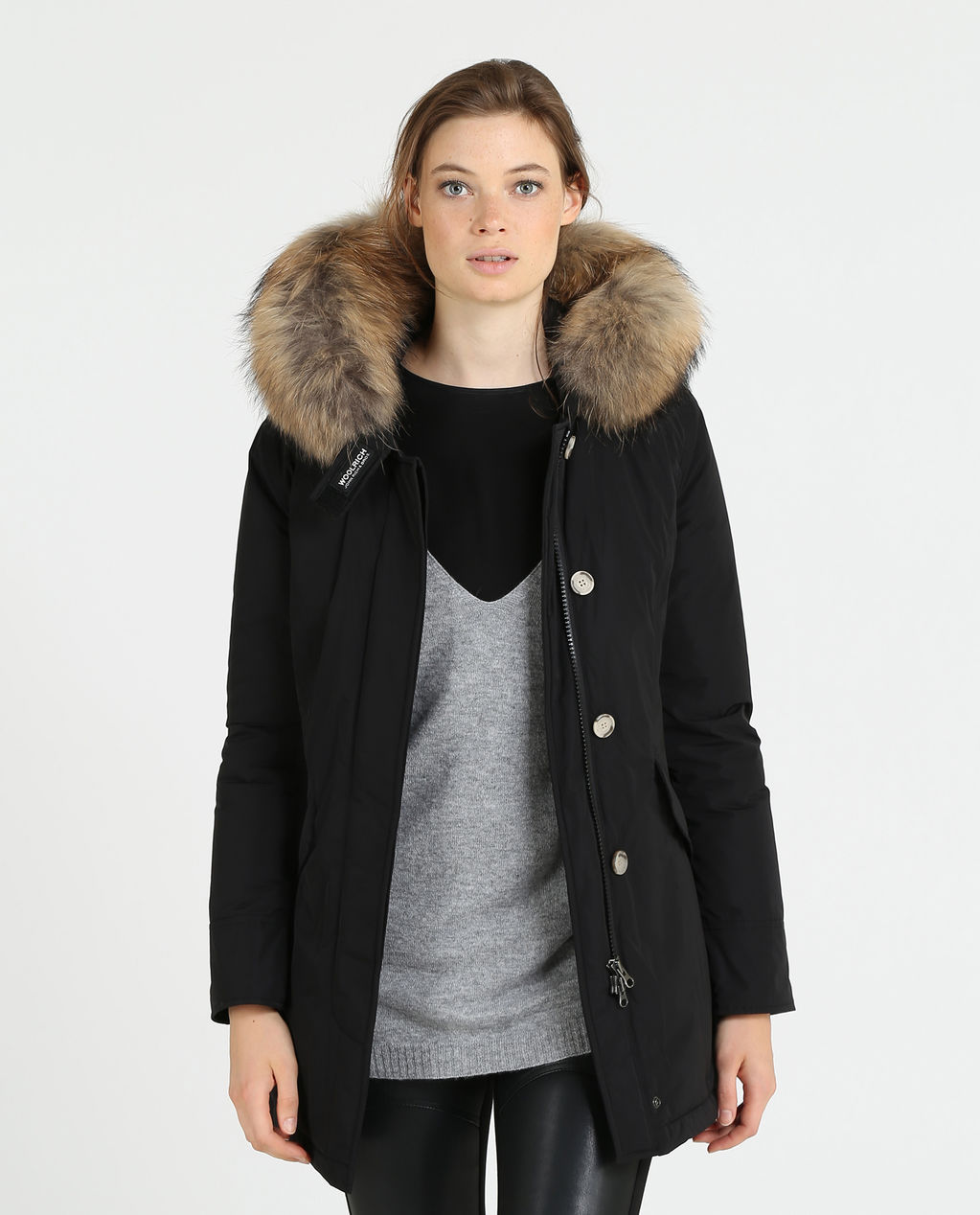 W'S Luxury Arctic Parka BLACK