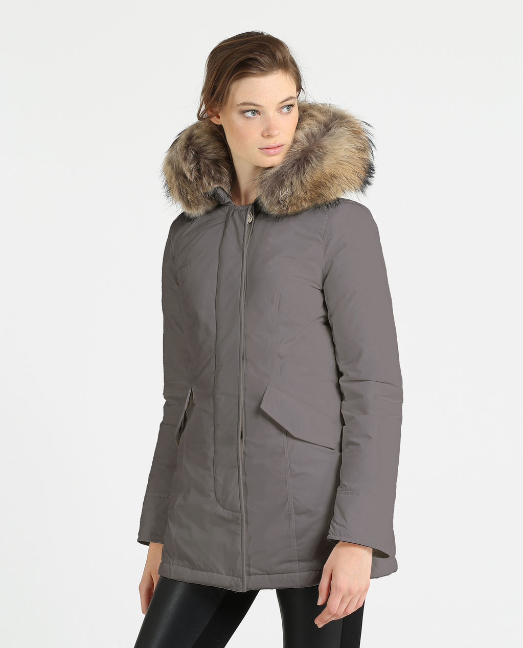W'S Luxury Arctic Parka URBAN GREY