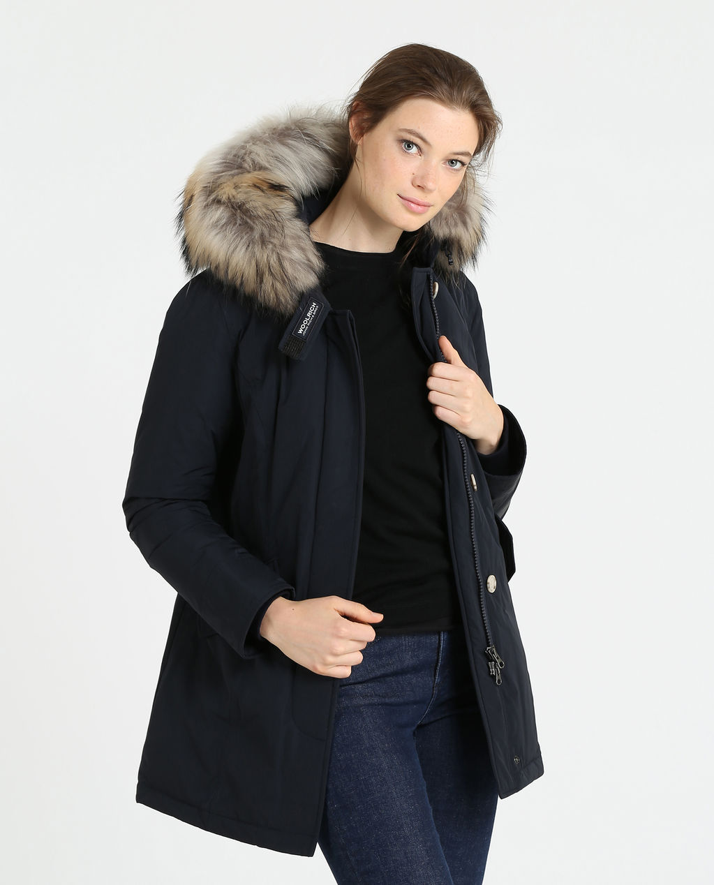W'S Luxury Arctic Parka MIDNIGHT BLUE