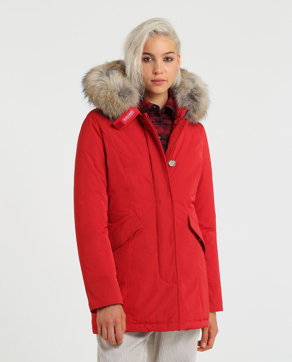 W'S Luxury Arctic Parka RED FRENCH KISS