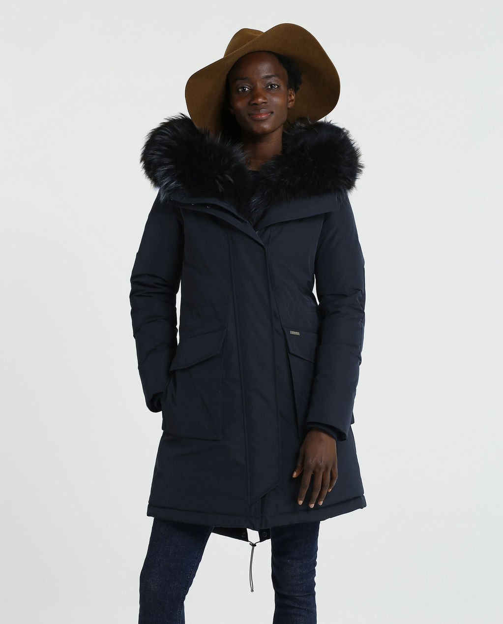 W'S Military Parka Dr MIDNIGHT BLUE