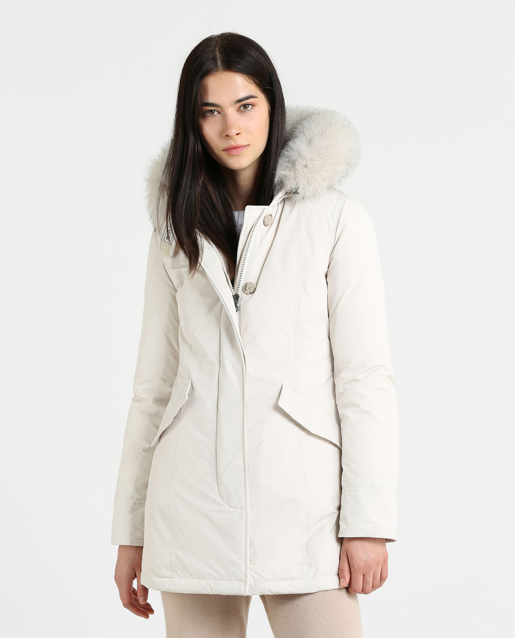 W'S Luxury Arctic Parka Fox White Igloo
