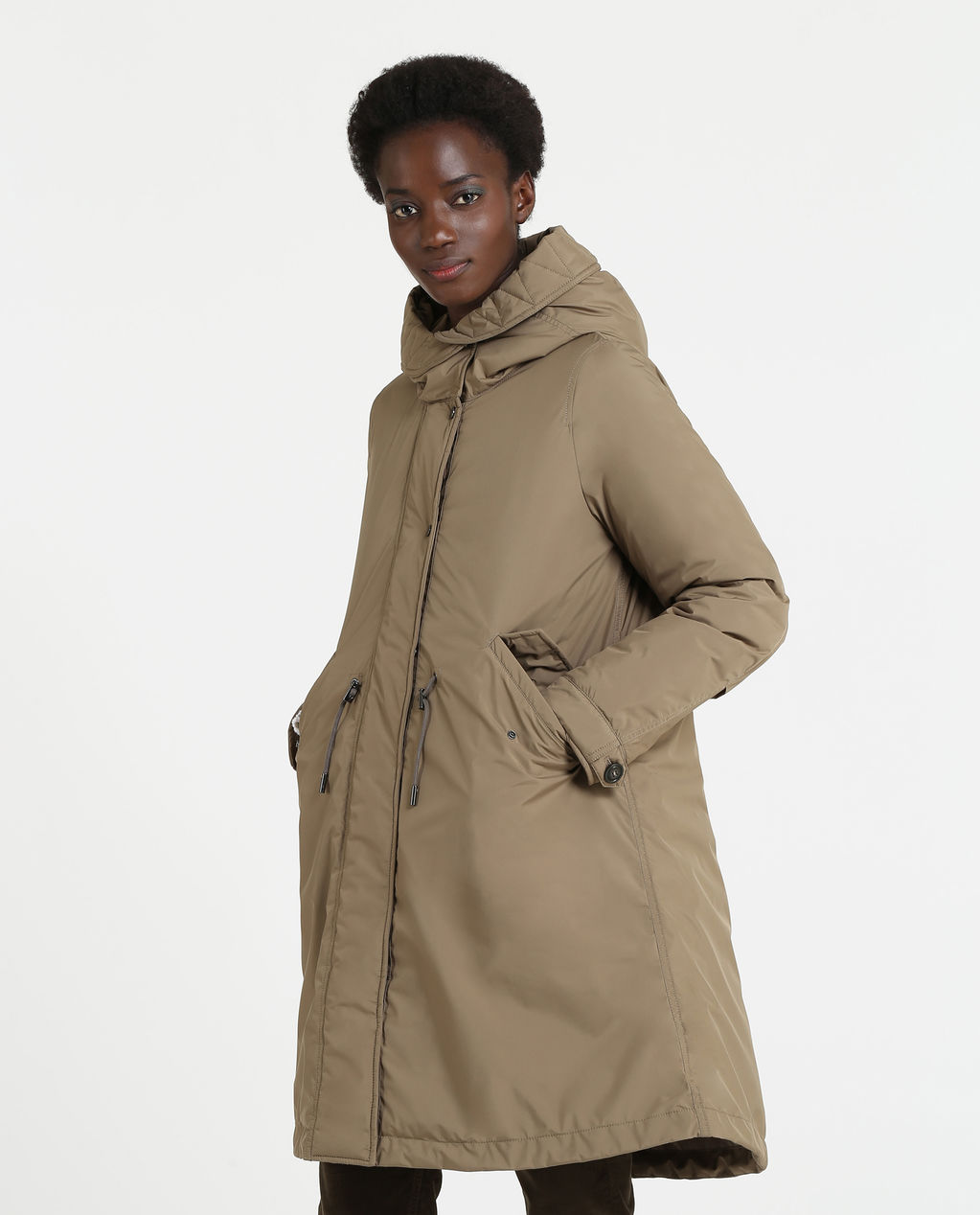 W'S Page Parka Alpha Taupe
