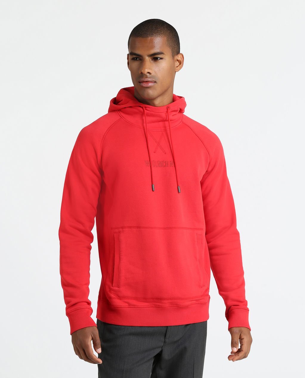 America Fleece Hoodie FLAME RED
