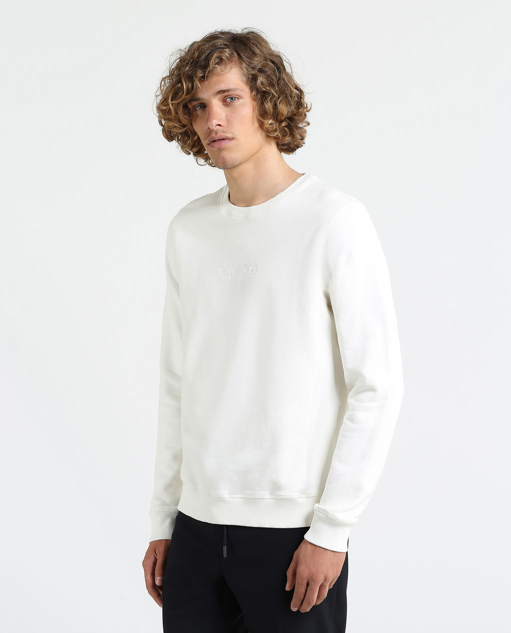 America Fleece Crew Neck ARCTIC WHITE