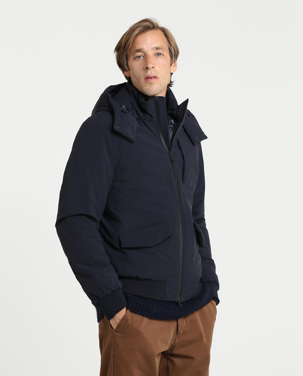 Stretch Bomber CLASSIC NAVY