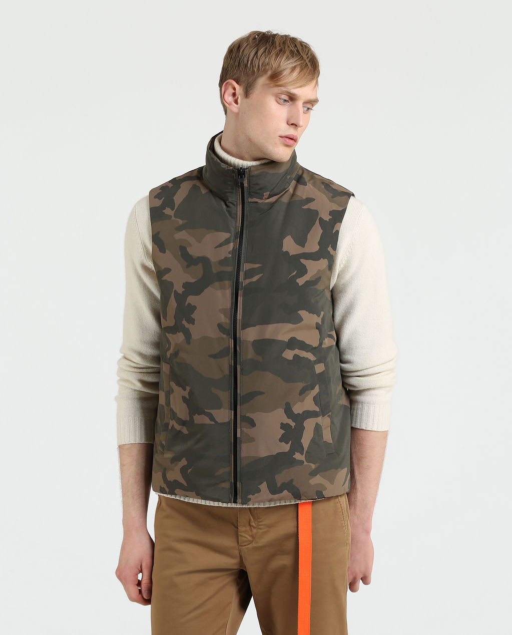 Camou Vest BROWN CAMOU