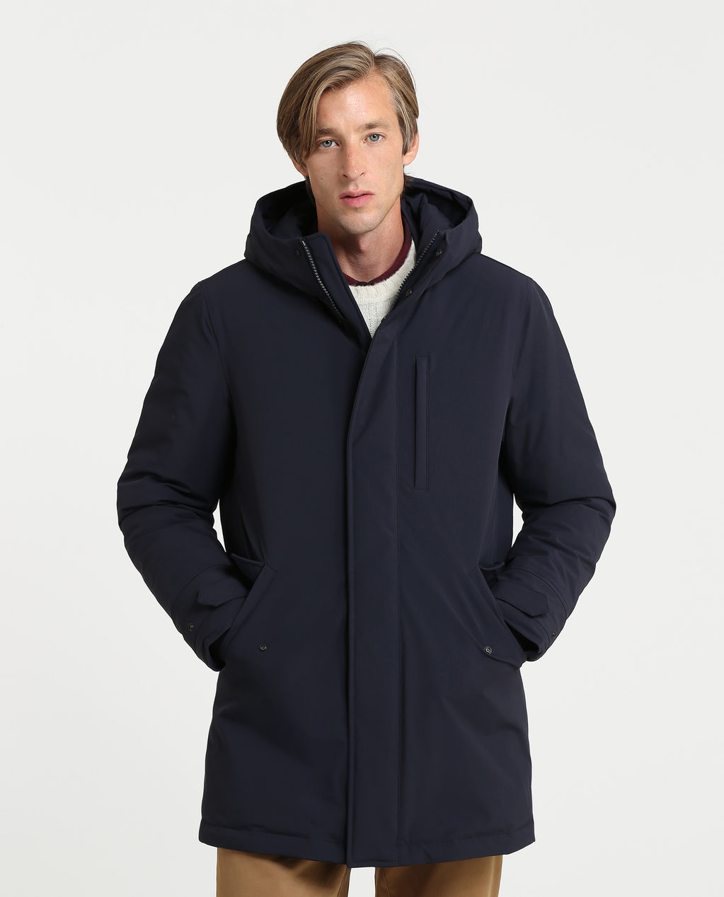 Stretch Military Parka CLASSIC NAVY
